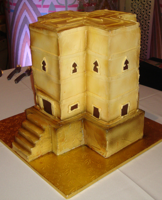 Lalibela wedding cake -Ethiopian church