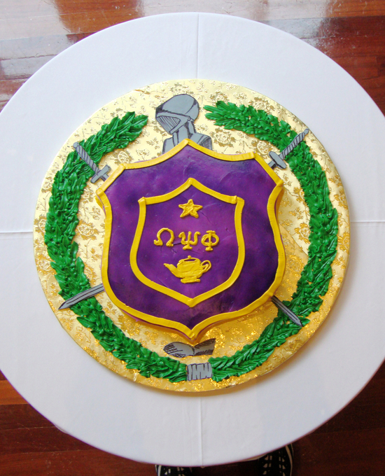 Grooms Cakes22 Omega Psi Phi Cake Unforgettable Wedding Cake